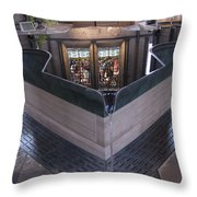 Baptismal Font Salisbury Cathedral - England Throw Pillow