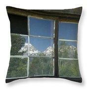 Bar B C Ranch Reflection Throw Pillow