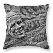 Barack Obama  Throw Pillow by Blake Richards