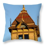 Barack Obama Hope Throw Pillow by Jeff Lowe
