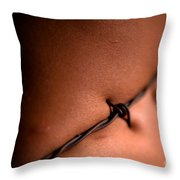 Barbed Capture Throw Pillow