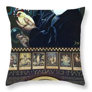 Barbra Yagavitchnaya Throw Pillow