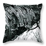 Barking Up At The Sky Throw Pillow