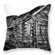 Barn 643 Throw Pillow