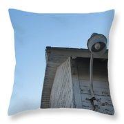 Barn Light West Throw Pillow