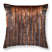Barnside Number 3 Grand Tetons Throw Pillow
