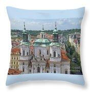 Baroque Beauty Throw Pillow