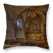 Baroque Church In Savoire France 3 Throw Pillow