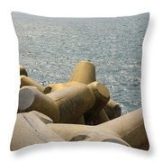 Barrage Throw Pillow