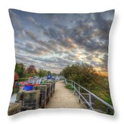 Barrow Sunrise Throw Pillow