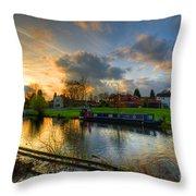 Barrow Sunset Throw Pillow