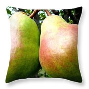 Bartlett Beauties Throw Pillow