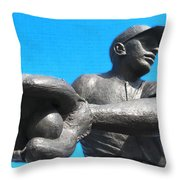 Baseball - Americas Pastime Throw Pillow