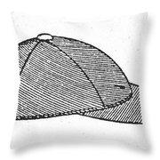 Baseball Cap, C1900 Throw Pillow by Granger