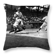 Baseball: Washington, 1925 Throw Pillow