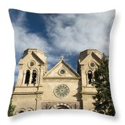 Basilica Of St Francis Throw Pillow