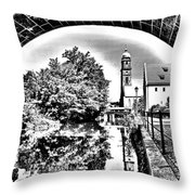 Basilika St. Martin  Throw Pillow