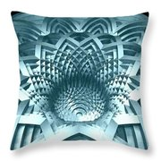 Basket Of Hyperbolae 02 Throw Pillow