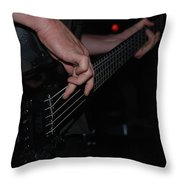 Bass Master Throw Pillow
