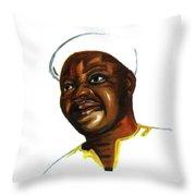 Bassek Ba Kobhio Throw Pillow