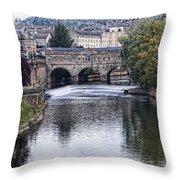 Bath England Throw Pillow