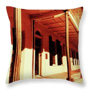 Baton Rouge Downtown Throw Pillow