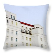 Baton Rouge Hilton Throw Pillow