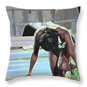 Baton Throw Pillow
