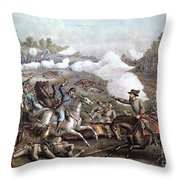 Battle Of Winchester, Throw Pillow