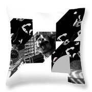 Bauhaus Ballet Toto Throw Pillow