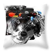 Bauhaus Safari Throw Pillow