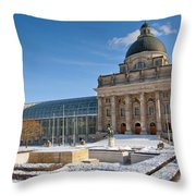 Bavarian State Chancellery Throw Pillow