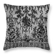 Bayeux Lace, C1800 Throw Pillow