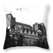 Bc Parliament Throw Pillow