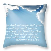 Be Filled 1762 Throw Pillow