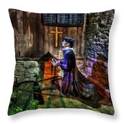 Be Still Thy Soul Throw Pillow by Evelina Kremsdorf