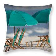 Beach Furniture I Throw Pillow