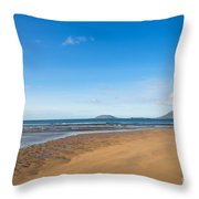 Beach Ireland Throw Pillow