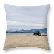 Beach Sweep Throw Pillow