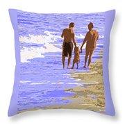 Beachwalk Throw Pillow