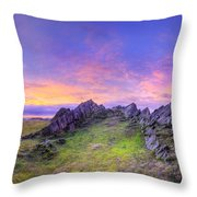 Beacon Hill Sunrise 3.0 Pano Throw Pillow