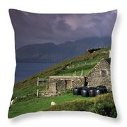 Beara Peninsula, County Cork, Ireland Throw Pillow