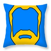 Beard Graphic  Throw Pillow