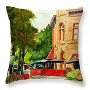 Beau Jo's Down Low Throw Pillow by Tom Riggs