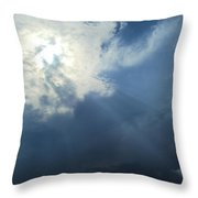 Beautiful Beams Throw Pillow