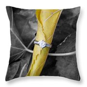 Beautiful Engagement Throw Pillow