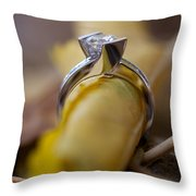 Beautiful Engagement Four Throw Pillow
