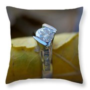 Beautiful Engagement One Throw Pillow