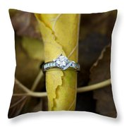 Beautiful Engagement Three Throw Pillow