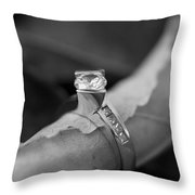 Beautiful Engagement Two Throw Pillow